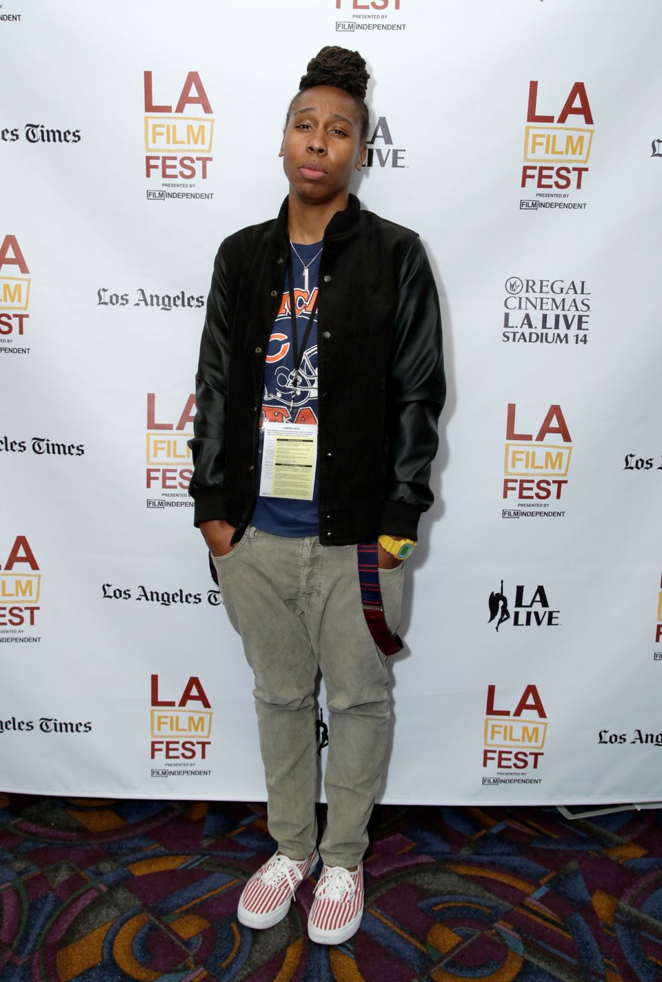 "At the premiere of ""Dreams Are Colder Than Death"" in Los Angeles."