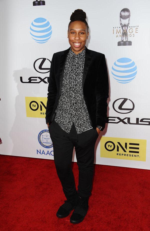 At the 47th NAACP Image Awardsin Pasadena.