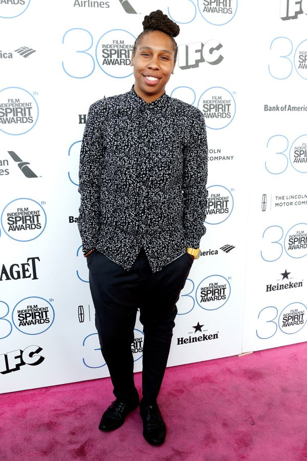 At the Film Independent Spirit Awards in Santa Monica.
