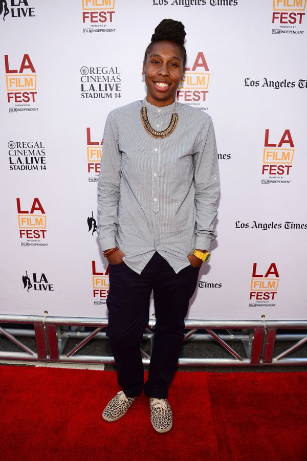 """At the premiere of""""Dear White People"""" in Los Angeles."""