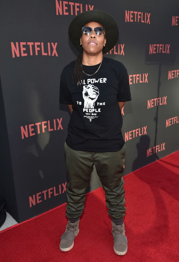 """At Netflix's """"Master Of None"""" For Your Consideration event in North Hollywood."""