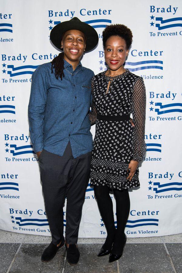 With Alana Mayo at The Brady Center's Bear Awards Gala in Los Angeles.