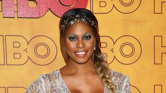 LOS ANGELES, CA - SEPTEMBER 17: Laverne Cox attends HBO's Post Emmy Awards Reception at The Plaza at the Pacific Design Center on September 17, 2017 in Los Angeles, California.(Photo by JB Lacroix/ WireImage)