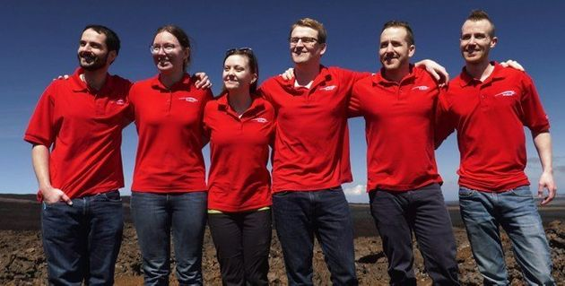 Team Emerge After Spending Eight Months Living In Simulated Mars
