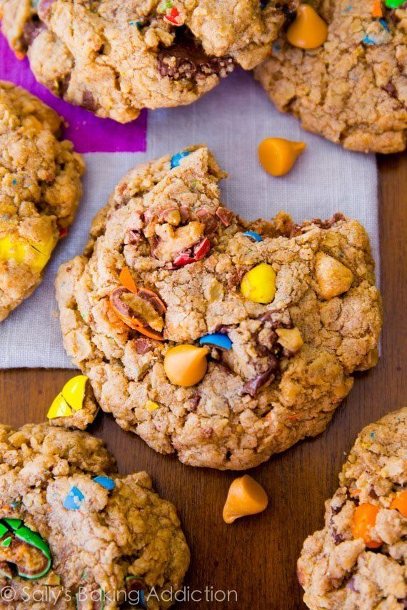 """<strong>Get the <a href=""""https://sallysbakingaddiction.com/2014/02/11/loaded-oatmeal-cookies/"""" target=""""_blank"""">Loaded Oatmeal"""
