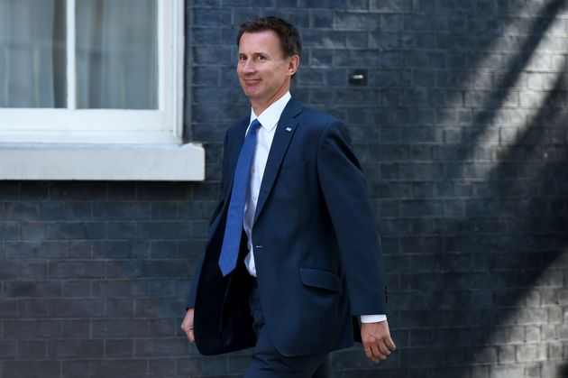 Secretary of State for Health Jeremy Hunt arrives at Downing Street in