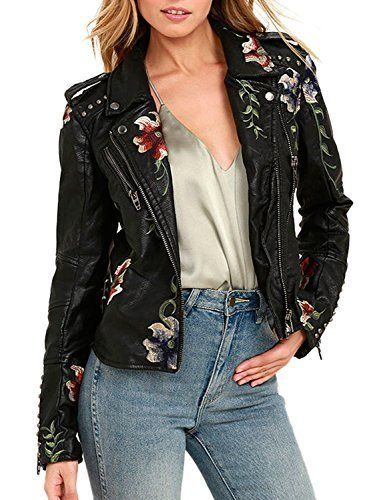 "Get it <a href=""https://www.amazon.com/BerryGo-Womens-Floral-Embroidered-Faux-Leather-Moto-Jacket-Coat-Black-M/dp/B0751DCWZR/"