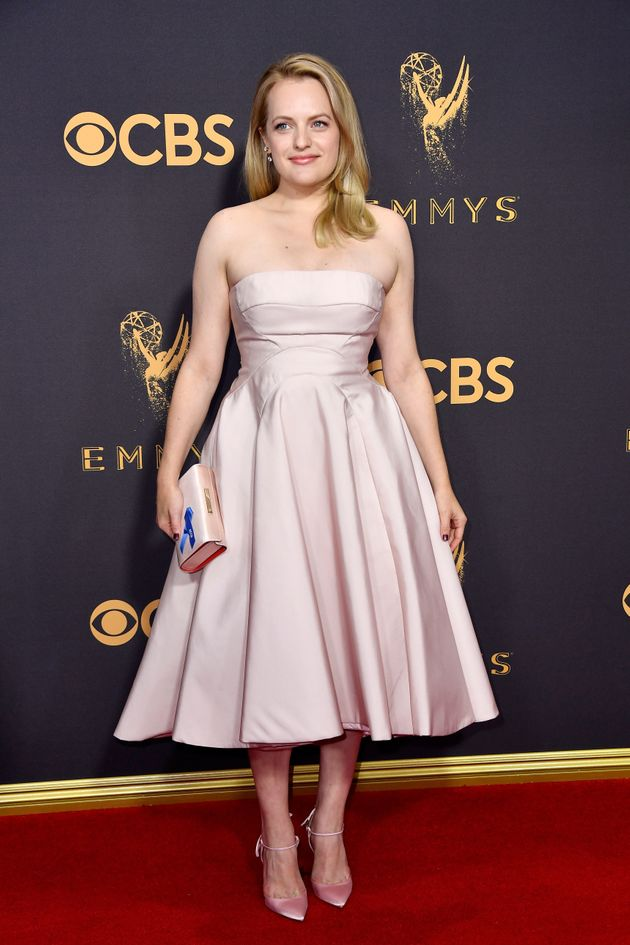 Actor Elisabeth Moss attends the 69th Annual Primetime Emmy