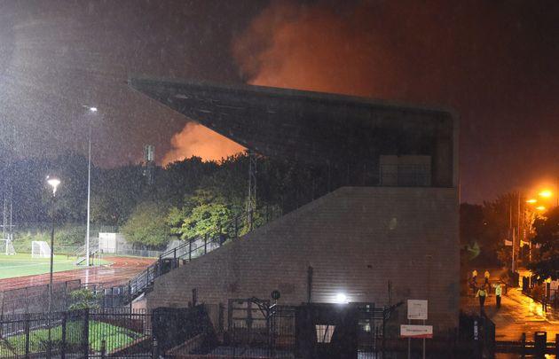 White Hart Lane Fire: Blaze Erupts At Warehouse In North