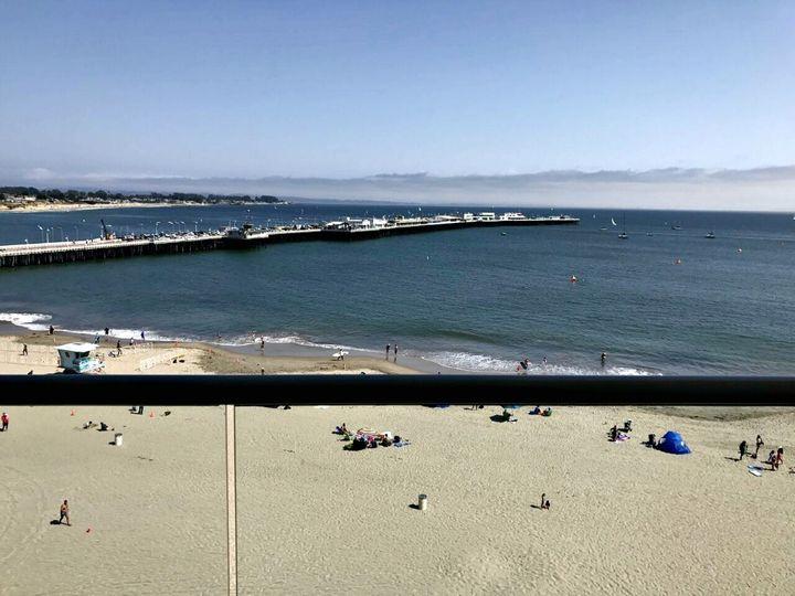 <p>View of the historic Santa Cruz Wharf</p>