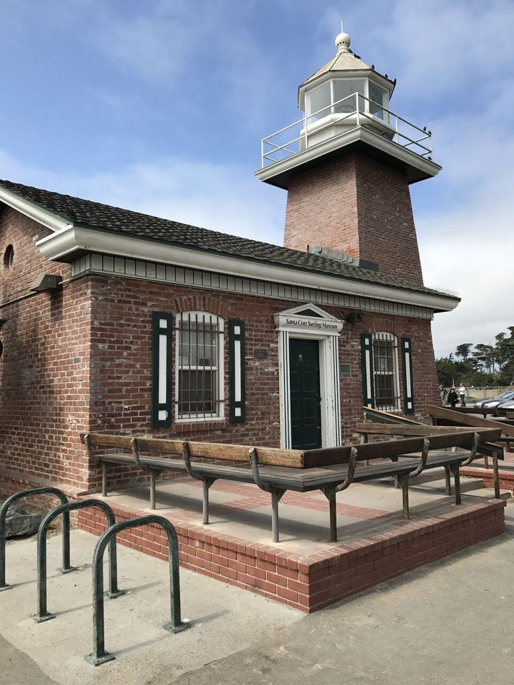 <p>Mark Abbott Memorial Lighthouse </p>