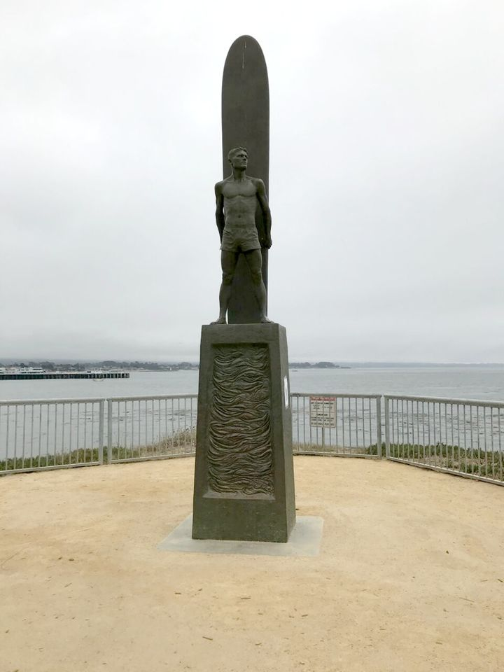 <p>Iconic Surf Statue by artist Paul Topp</p>