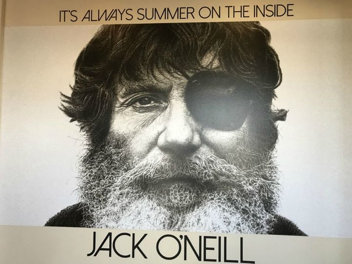 <p>Jack O'Neill mural at Jack O'Neill Lounge</p>