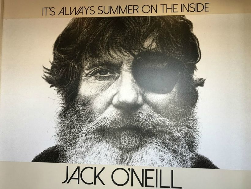 Jack O'Neill mural at Jack O'Neill Lounge