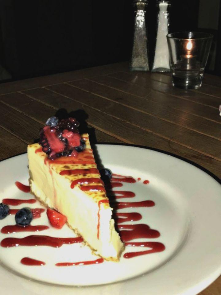 <p>Cheesecake</p>