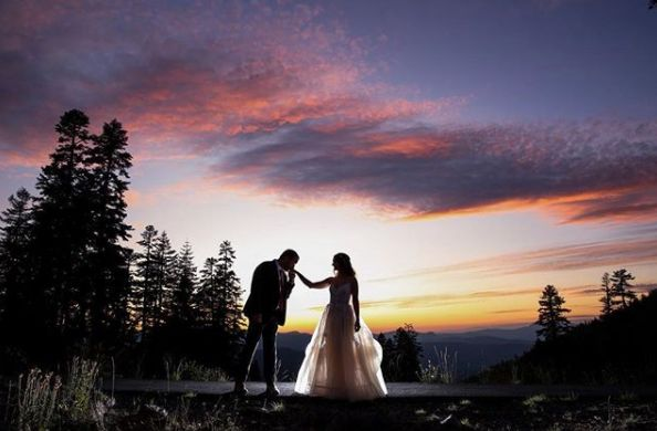 """Can't get enough of this wedding."" -- <i>Neringa ""Neri"" Ridges</i>"