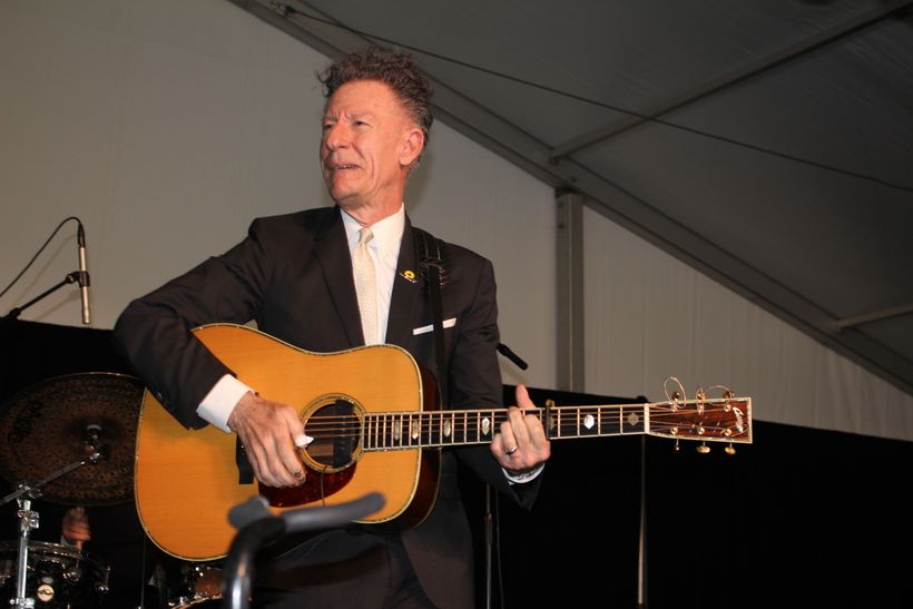 Lyle Lovett and his band performed a two hour set