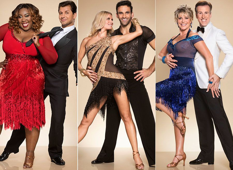'Strictly Come Dancing' Couples Strike A Pose For First Official Photo-Shoot