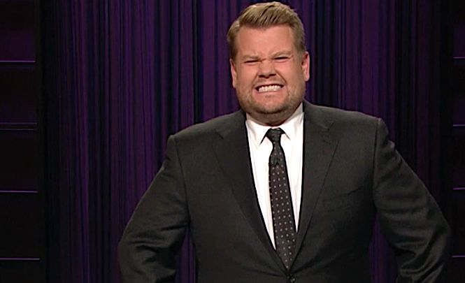 James Corden Is 'Disappointed' In Himself For Kissing Sean