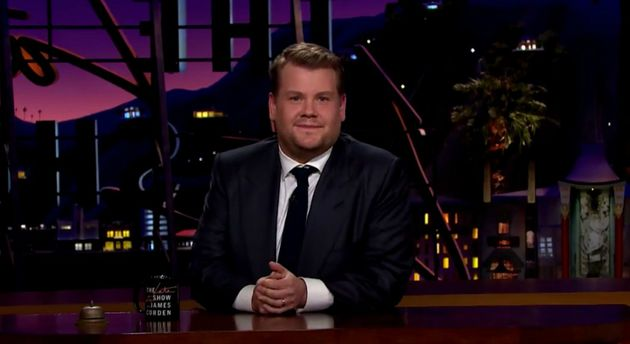 James Corden Addresses *That* Sean Spicer Photo But Falls Short Of Apologising Following