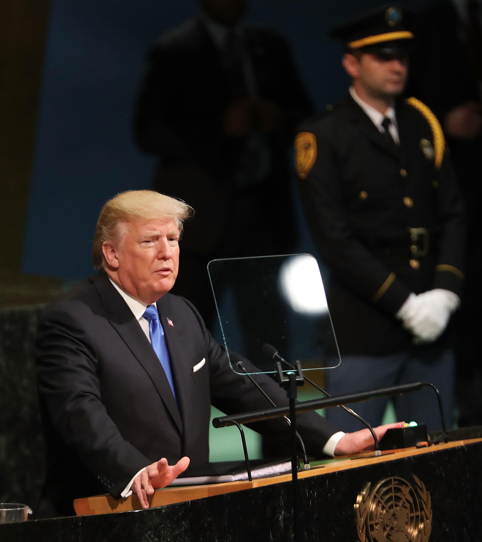 Donald Trump's First UN Address Gets Mixed Reviews From Political