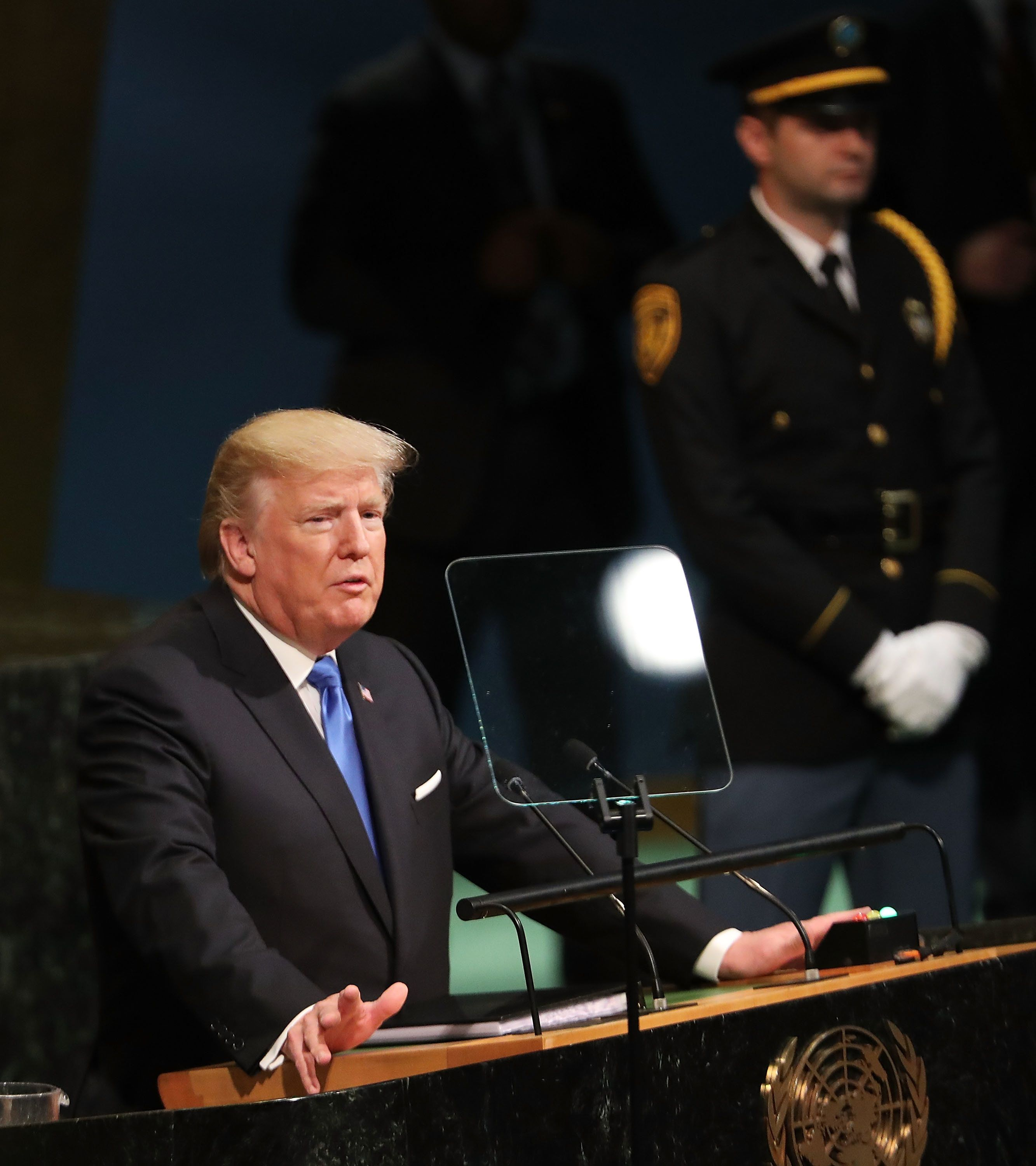 Trump's First UN Address Gets Mixed Reviews From Political Leaders