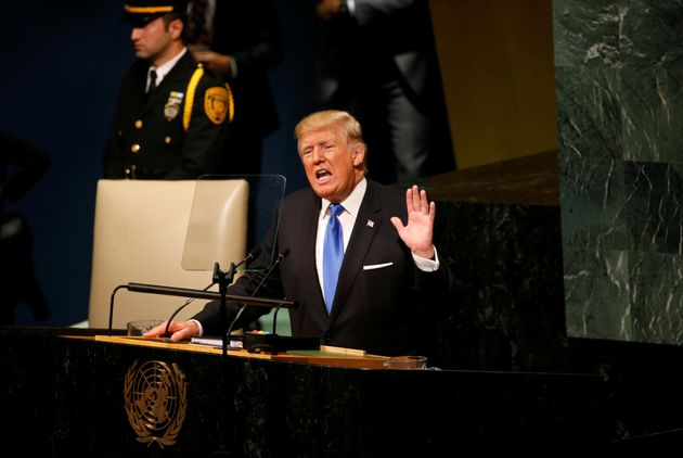 Donald Trump Threatens To 'Totally Destroy North Korea' In Speech To United Nations