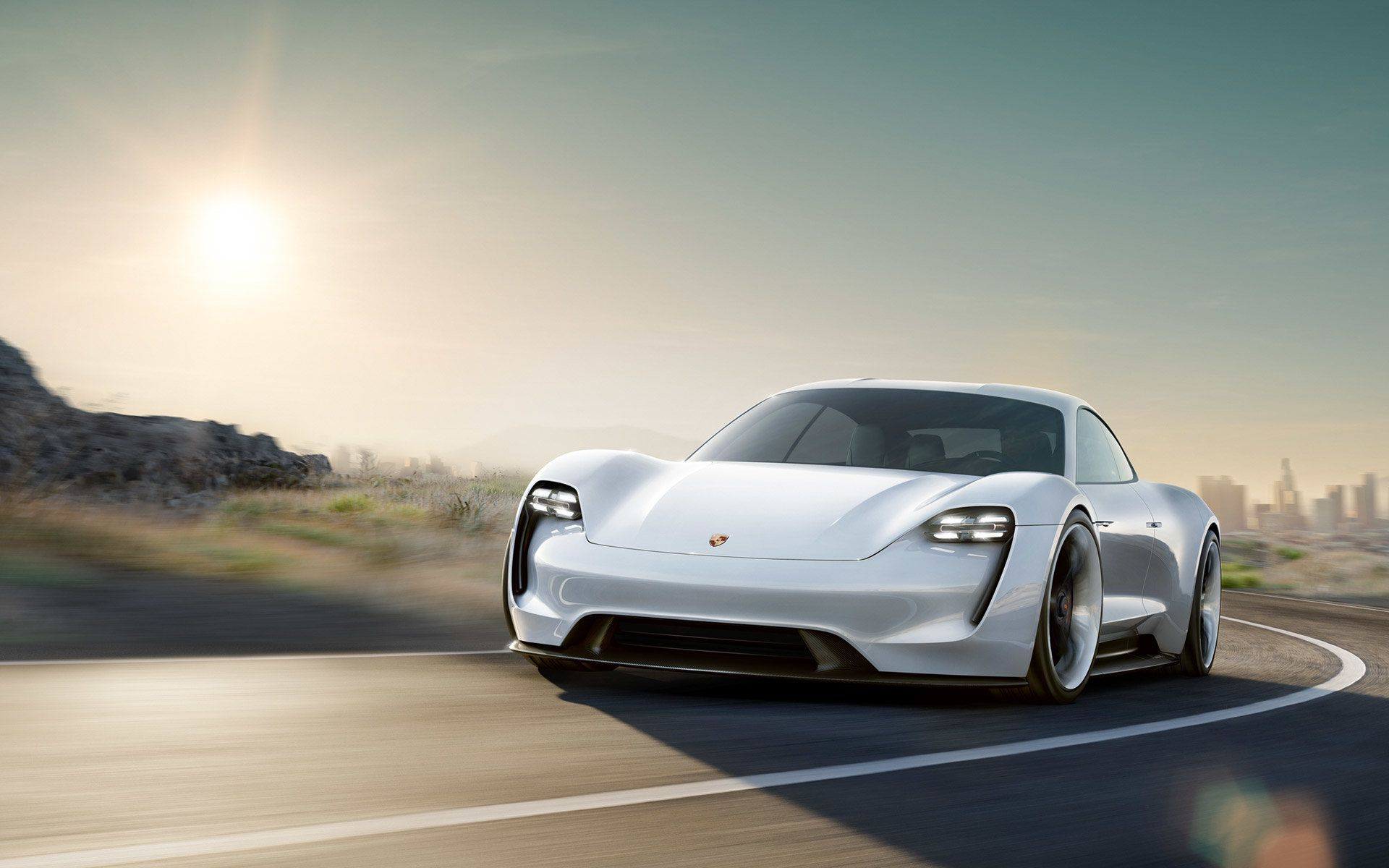 Porsche Mission E Is A Rival To The Tesla Model S And It Looks