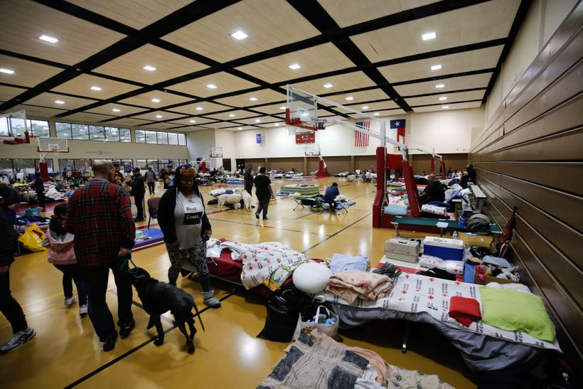 Lonestar College - North Harris became a shelter after Hurricane Harvey hit Texas.