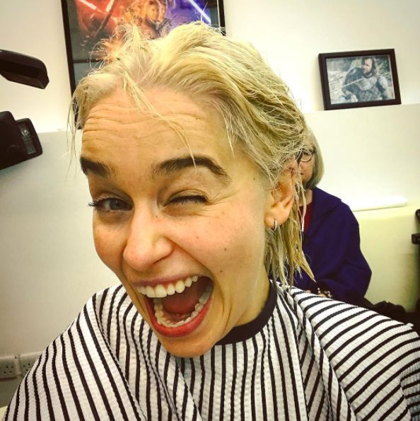 Emilia Clarke Has Dyed Her Hair Daenerys Blonde For