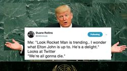Trump Called Kim Jong Un 'Rocket Man' And Twitter Just