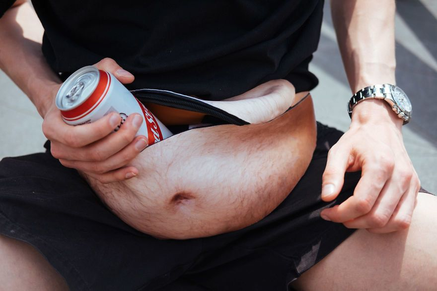 """Image result for The """"dad bod"""" fanny pack"""
