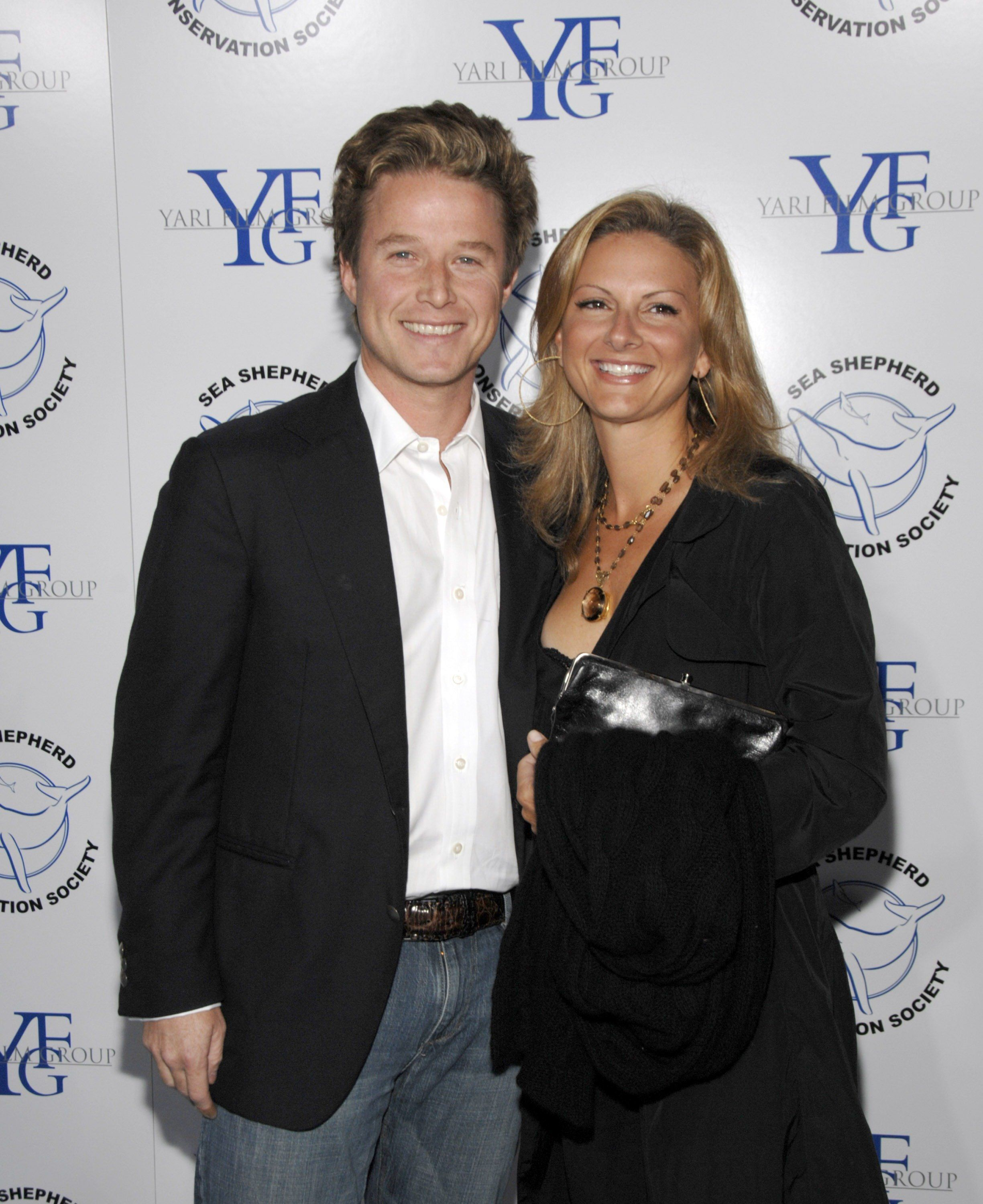 SANTA MONICA, CA -OCTOBER 13:  Billy Bush and Sydney Bush attend 'Breaking The Ice' A Fundraiser to benefit The Sea Shepherd Conservation Society on October 13, 2007 in Santa Monica, California. (Photo by John M. Heller/Getty Images)