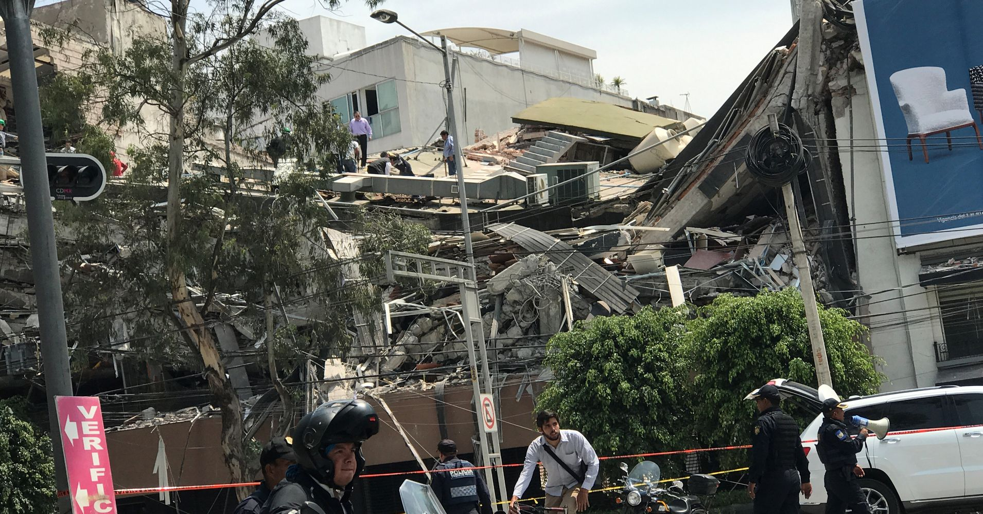 Powerful Earthquake Kills More Than 140 In Central Mexico