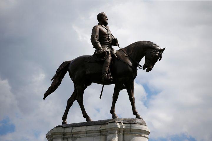 The statue of Confederate General Robert E. Lee in Richmond, Virginia, U.S., September 16, 2017.