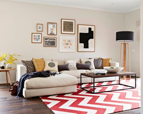 How To Energize Rooms With Geometric Rugs Huffpost