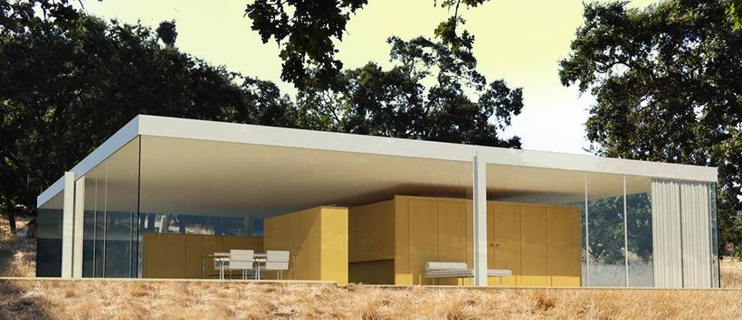 Mies Van Der Rohe House to open in Spring 2018 on The 50 x 50 Property in Napa Valley, California