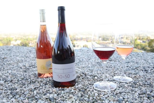 Pinot Noir and Rose Wine by The 50 x 50