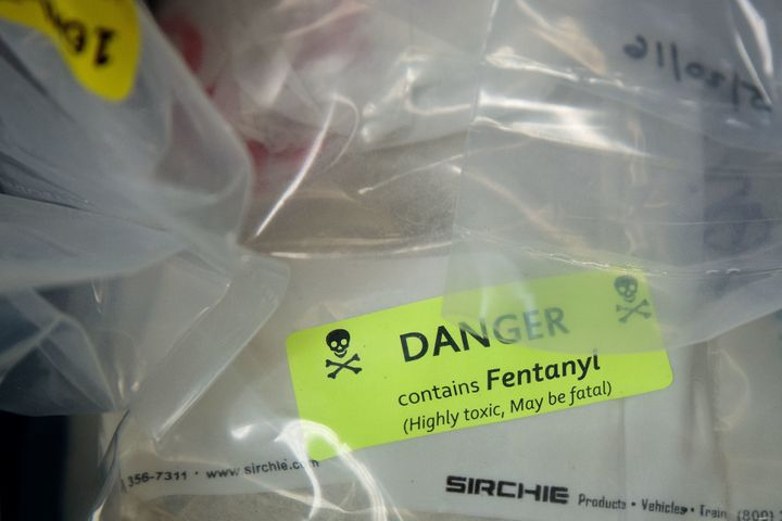 Fentanyl is 50 times more powerful than heroin.