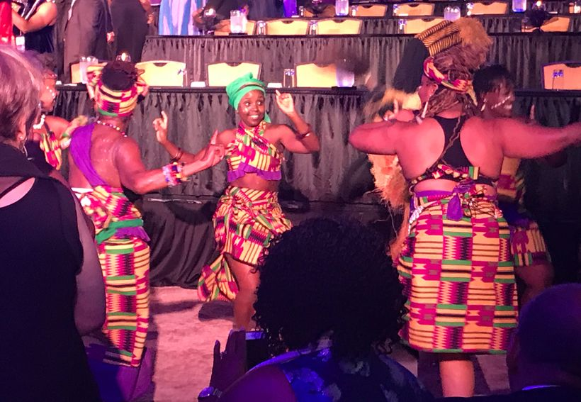 The opening festivities at the National Black Theatre Festival