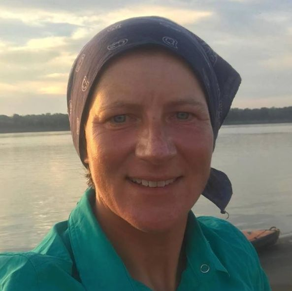 Emma Keltywas 42 days into a 4,000-mile trip from the Amazon's source in Peru when she