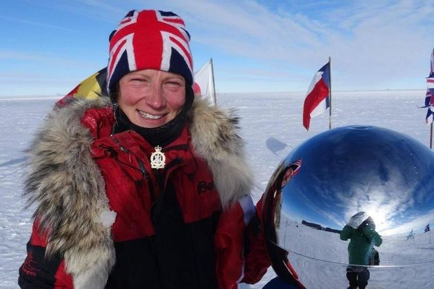 Kelty skied to the South Pole last