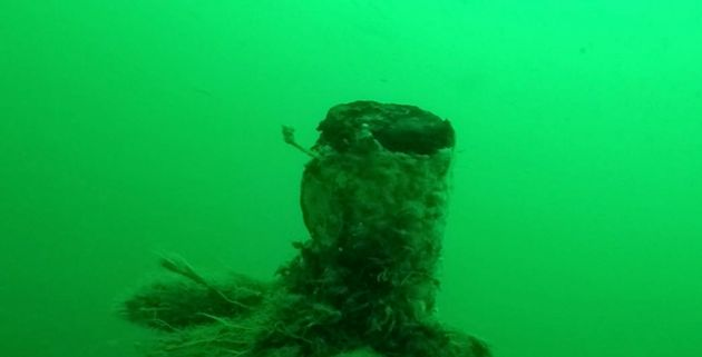 The well-preserved wreck was found on the floor of the North Sea off the coast of