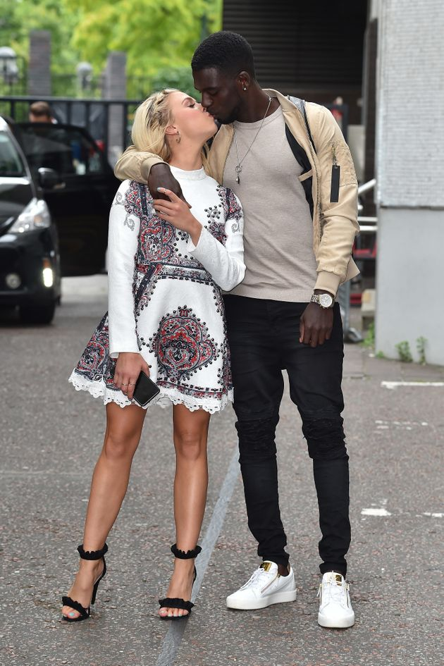 Gabby and Marcel out together in