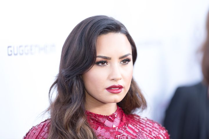 Singer-songwriter Demi Lovato arrives for the Annual Brent Shapiro Foundation For Alcohol And Drug Prevention Summer Spectacu