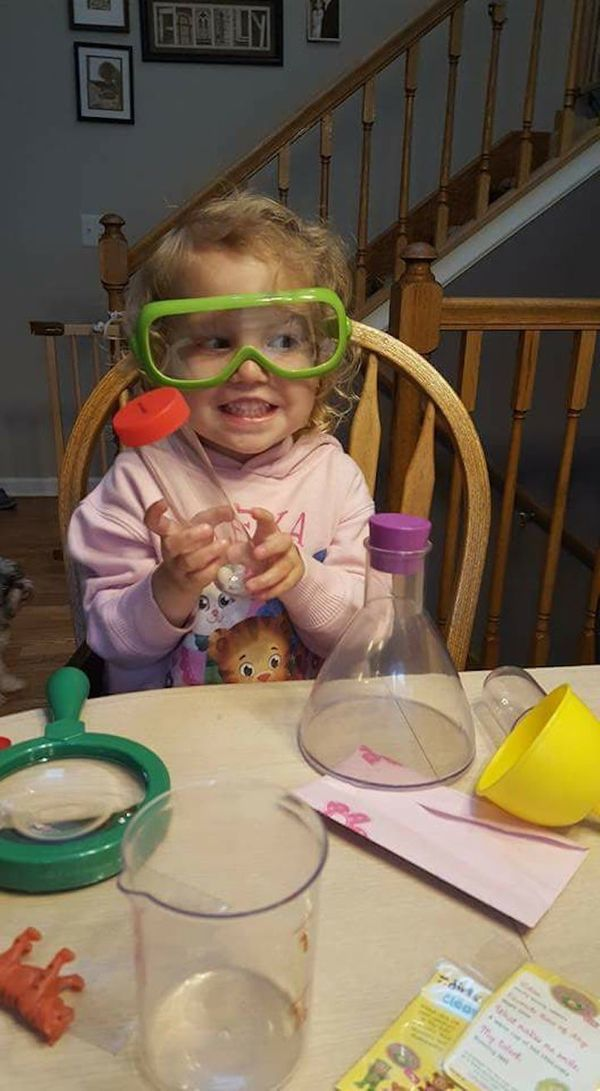 """""""Mad scientist in the making!"""""""