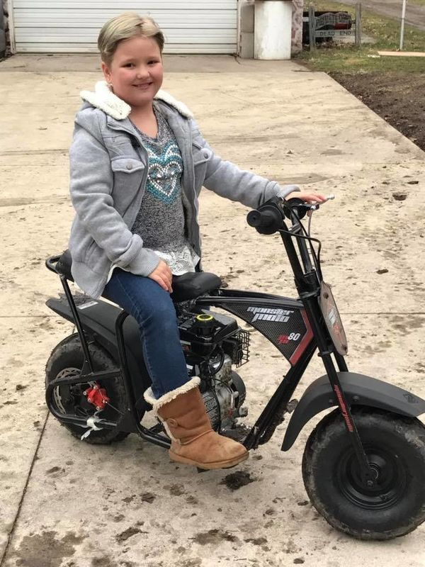 """""""My 10-year-old daughter; she's all about anything with a motor."""""""