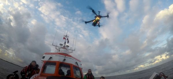 A UK Lifeboat Crew Have Started Using Drones For Search And Rescue