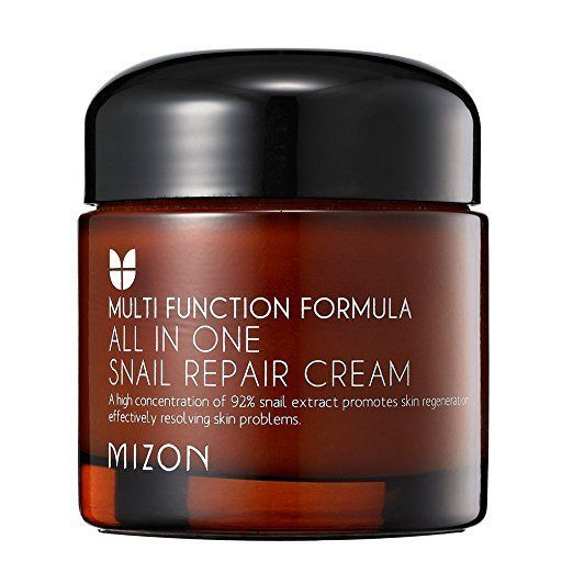 We're back with the snail extract and that's because it provides so many benefits. This cream packs a punch, providing soluti