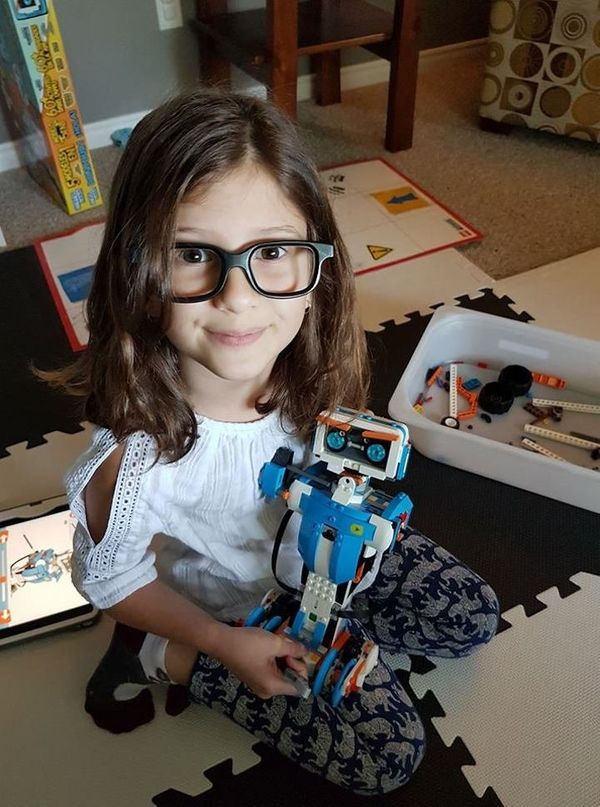 """""""Girls like building robots and coding, too!"""""""
